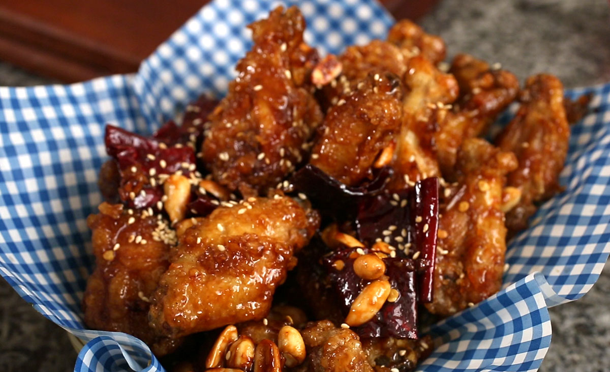 Dakgangjeong korean fried Chicken​