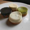 Cheesecake al sesamo nero